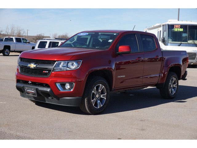 Pre-Owned 2018 Chevrolet Colorado 4WD Z71