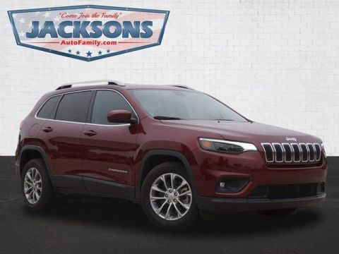 Pre-Owned 2019 Jeep Cherokee 4D SUV FWD LATITUDE PLUS