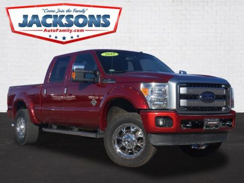 Pre-Owned 2015 Ford Super Duty F-250 SRW Platinum