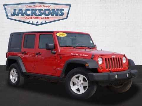 Pre-Owned 2010 Jeep Wrangler Unlmted Rubicon